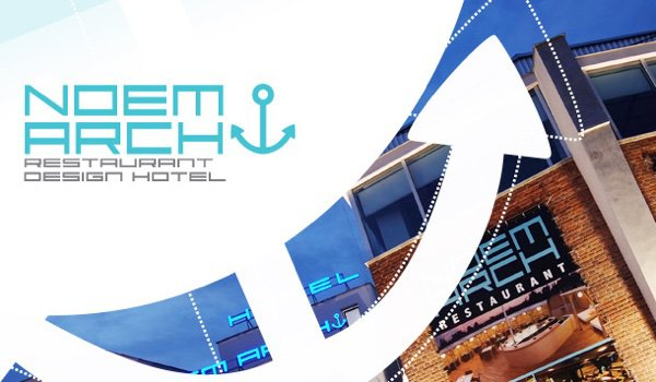 Design hotel a restaurace noem arch for Design hotel noem arch